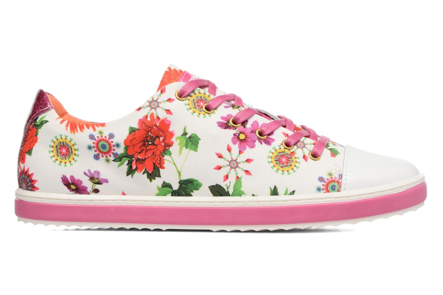 Trainers Desigual SHOES_SUPPER HAPPY Multicolor back view