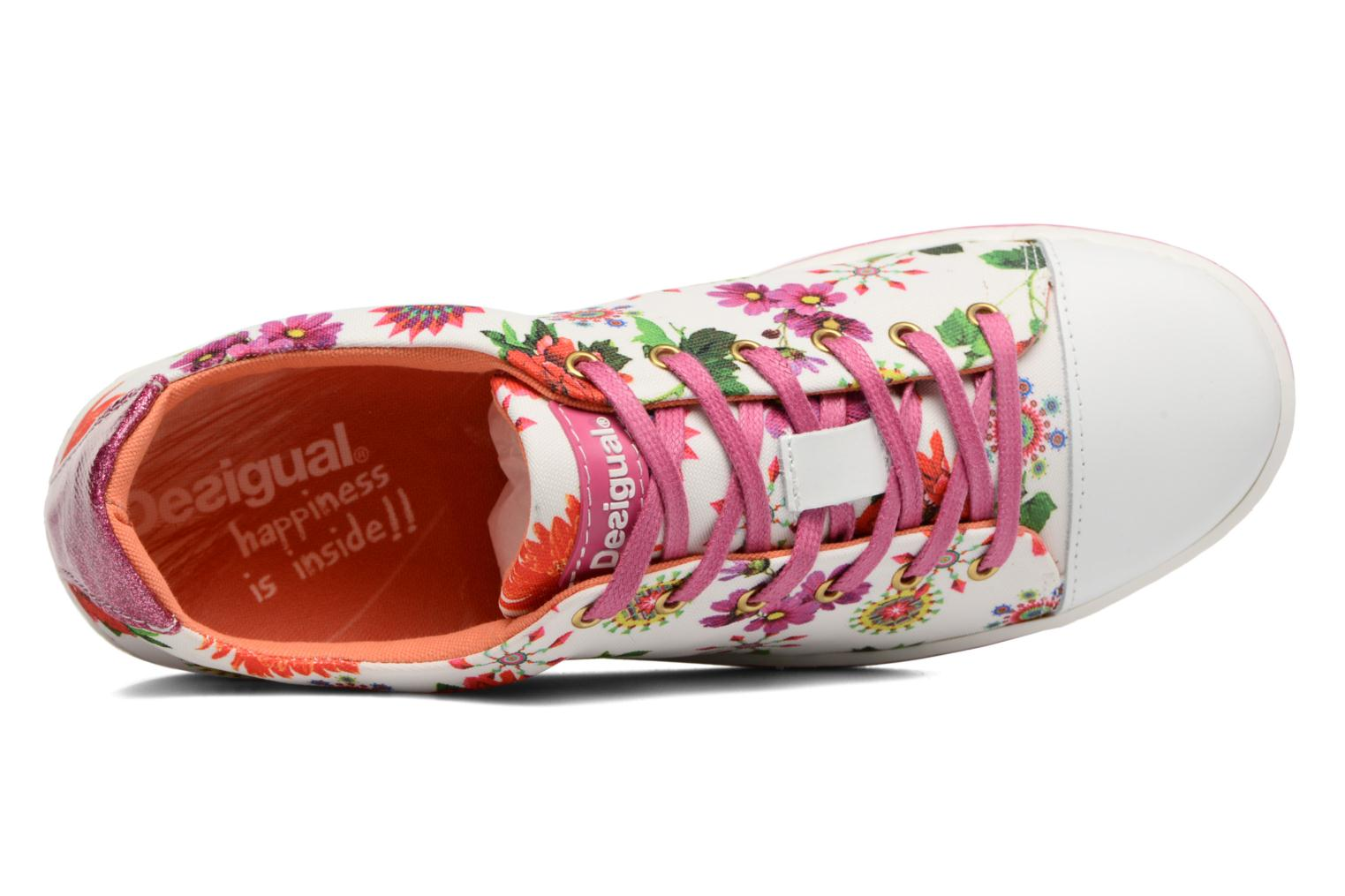 Trainers Desigual SHOES_SUPPER HAPPY Multicolor view from the left