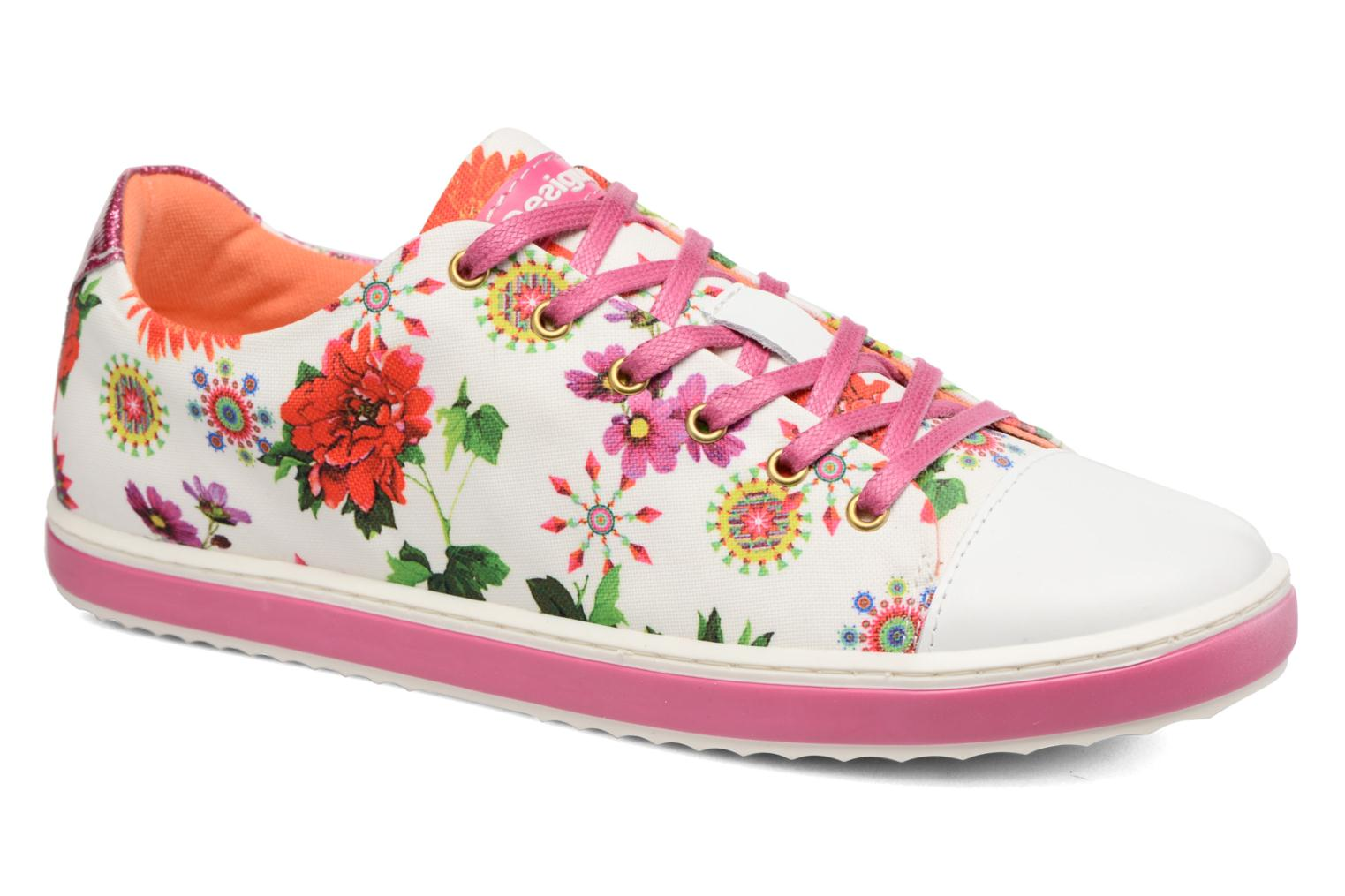Trainers Desigual SHOES_SUPPER HAPPY Multicolor detailed view/ Pair view