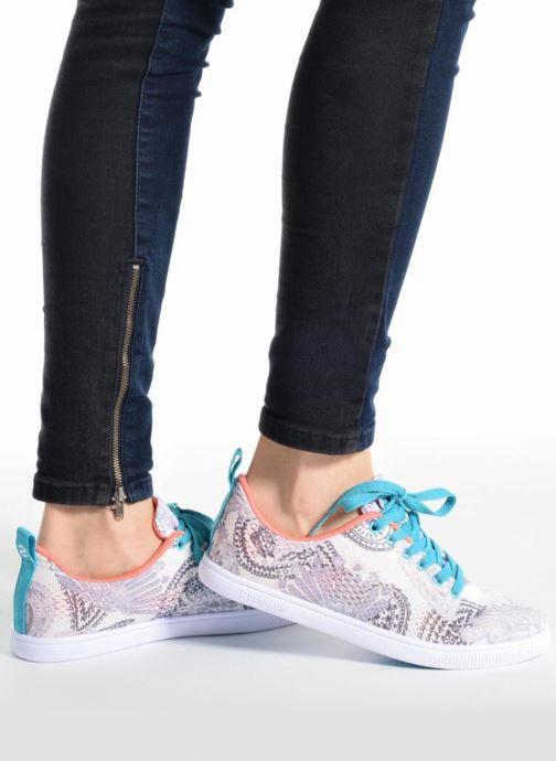 Sneakers Desigual SHOES_CAMDEN Rosa immagine dal basso