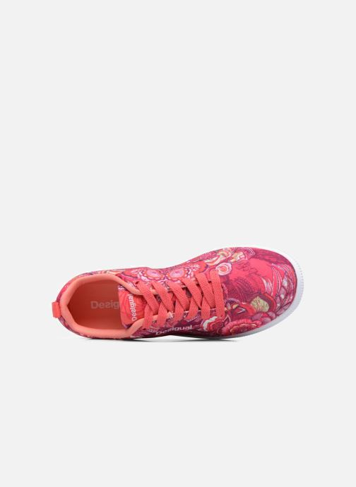 Trainers Desigual SHOES_CAMDEN Pink view from the left