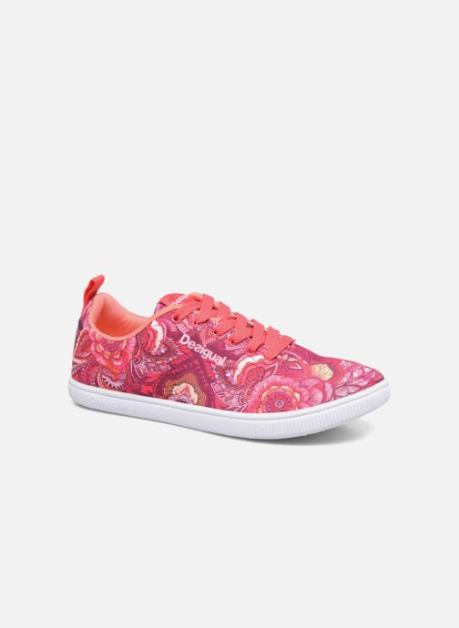 Trainers Desigual SHOES_CAMDEN Pink detailed view/ Pair view