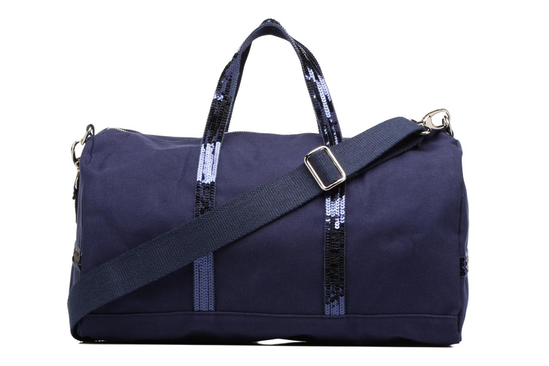 Sporttassen Vanessa Bruno Gym bag paillettes Blauw voorkant