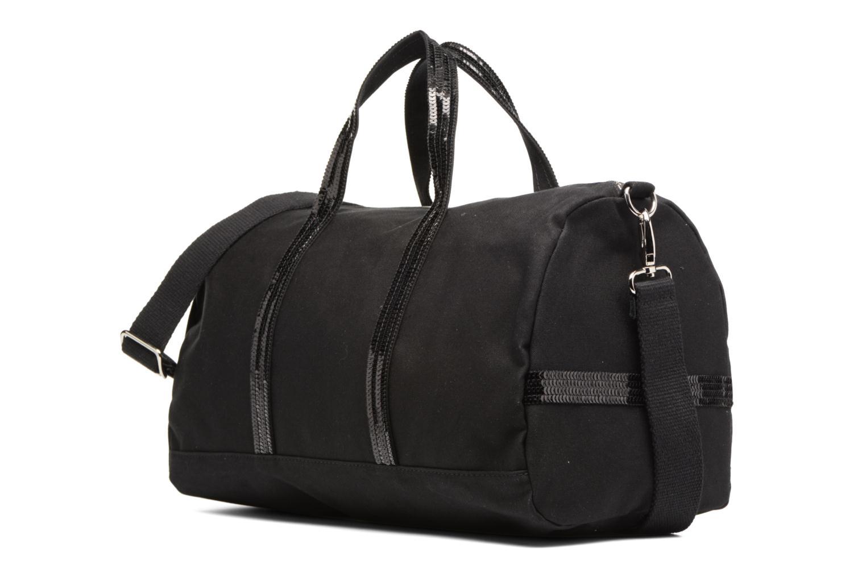Sacs de sport Vanessa Bruno Gym bag paillettes Noir vue portées chaussures