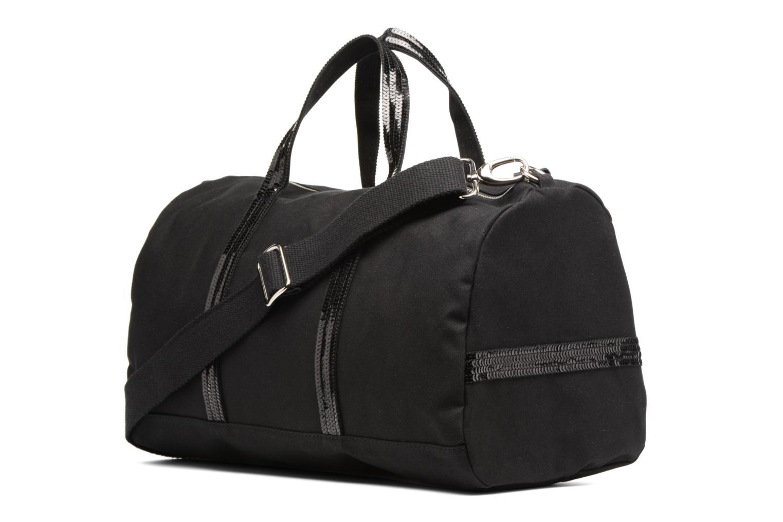 Sacs de sport Vanessa Bruno Gym bag paillettes Noir vue droite