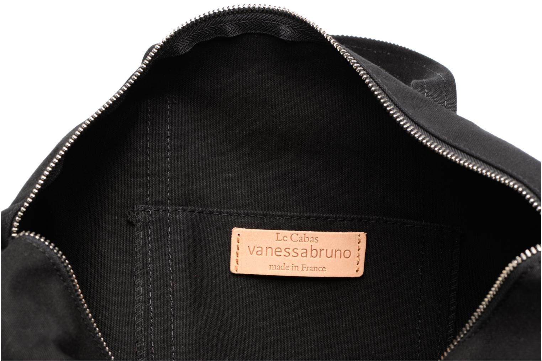 Sporttassen Vanessa Bruno Gym bag paillettes Zwart achterkant