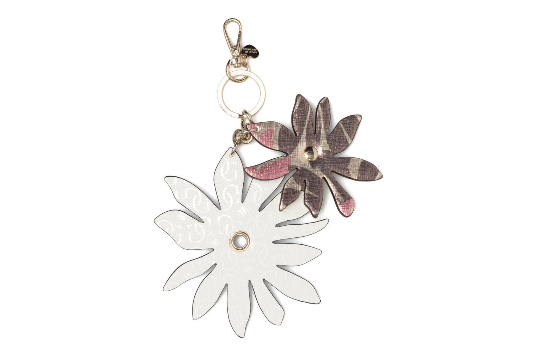 Diversos Guess DEVYN KEYRING Flower keychain Blanco vista del modelo