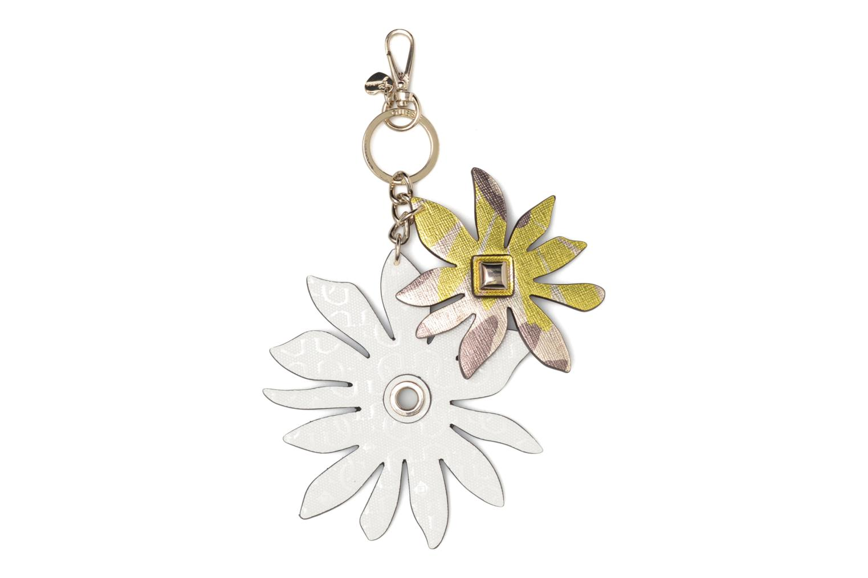 Diversos Guess DEVYN KEYRING Flower keychain Blanco vista de detalle / par
