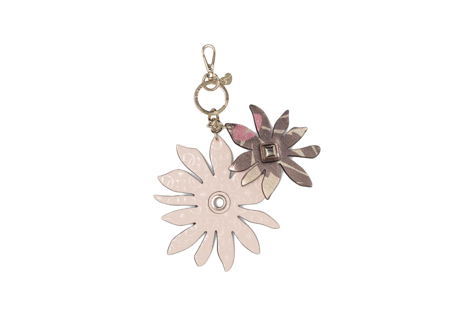 Divers Guess DEVYN KEYRING Flower keychain Roze detail