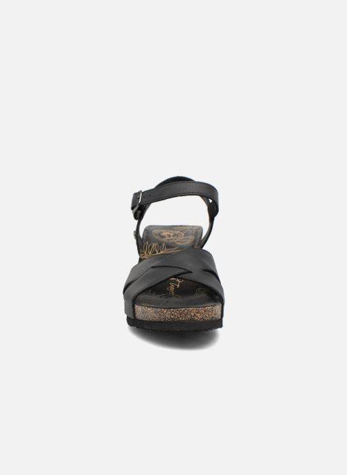 Sandales et nu-pieds Panama Jack Vika Noir vue portées chaussures