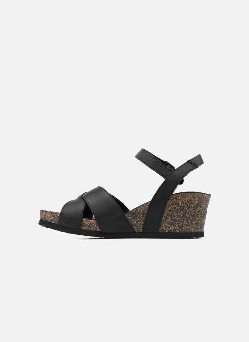Sandales et nu-pieds Panama Jack Vika Noir vue face