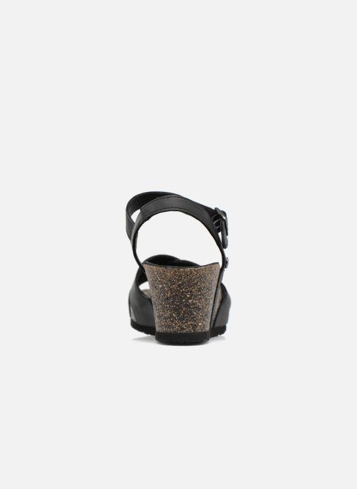 Sandales et nu-pieds Panama Jack Vika Noir vue droite