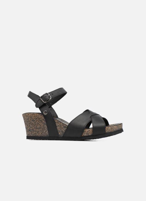 Sandales et nu-pieds Panama Jack Vika Noir vue derrière