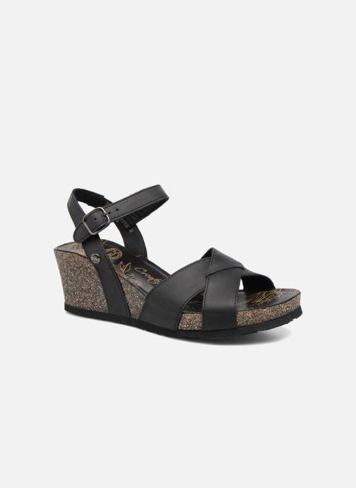 Sandales et nu-pieds Panama Jack Vika Noir vue détail/paire