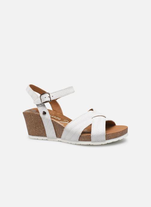 Sandales et nu-pieds Panama Jack Vika Blanc vue derrière