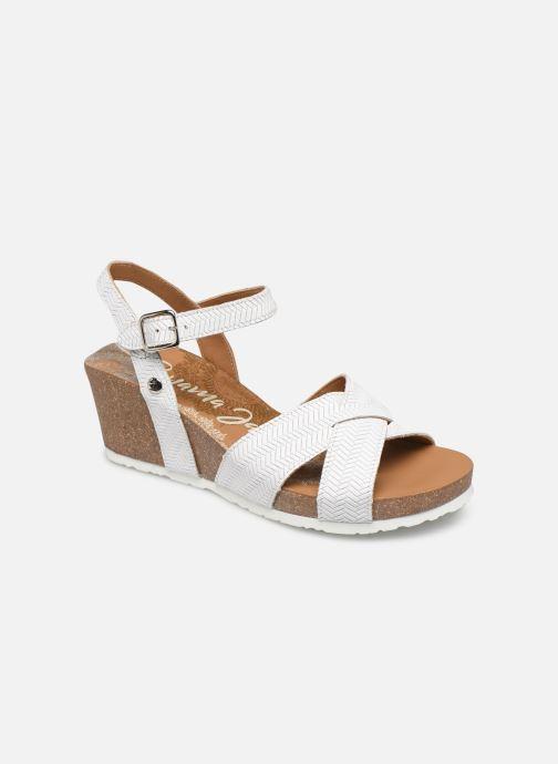 Sandales et nu-pieds Panama Jack Vika Blanc vue détail/paire