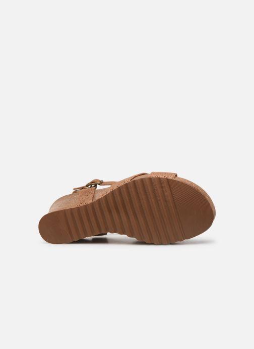 Sandalen Panama Jack Vika Bruin boven