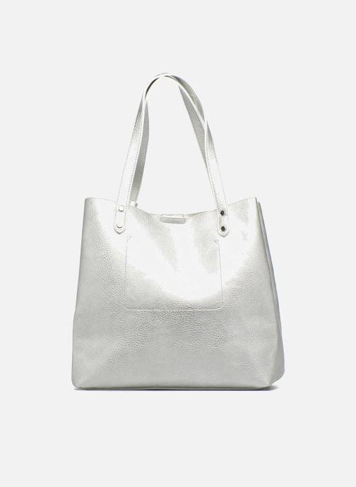 Handtaschen Georgia Rose LADY Cabas silber ansicht von vorne
