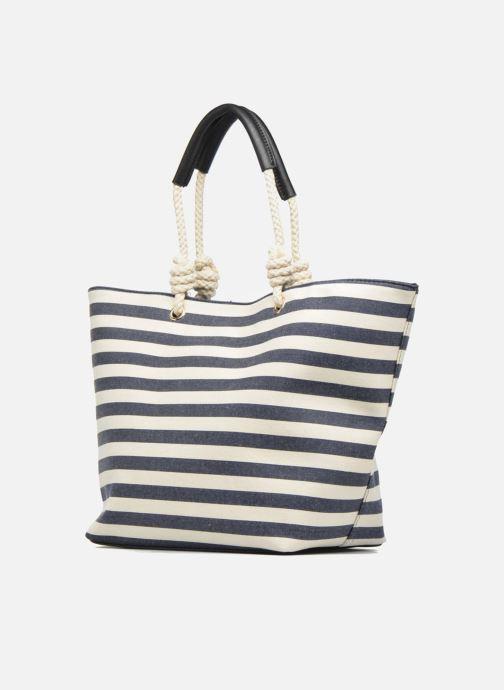 Handtaschen Georgia Rose LILY Cabas blau schuhe getragen