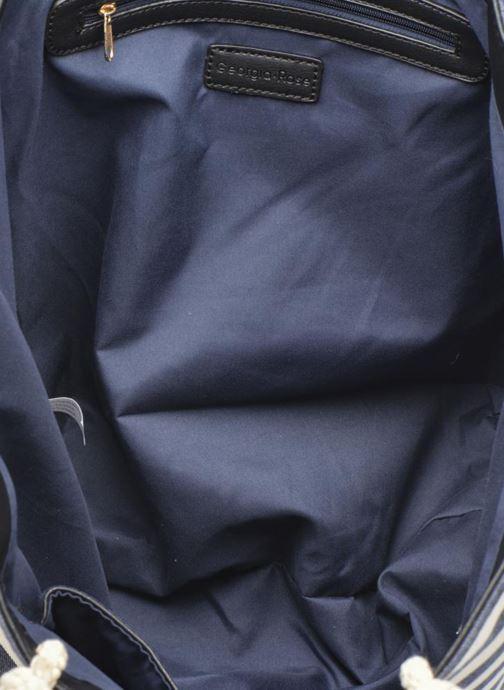 Handtassen Georgia Rose LILY Cabas Blauw achterkant