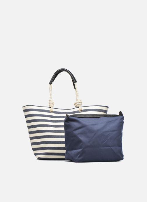Handtaschen Georgia Rose LILY Cabas blau ansicht von links