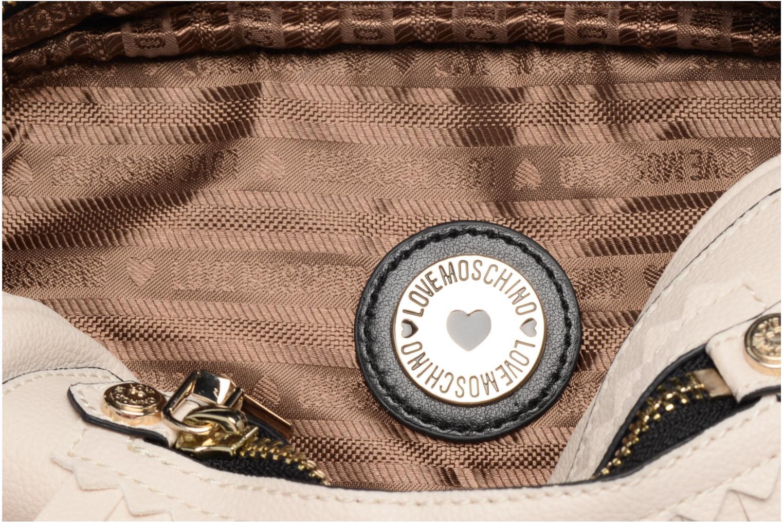 Borse Love Moschino Fringes bag Crossbody Bianco immagine posteriore