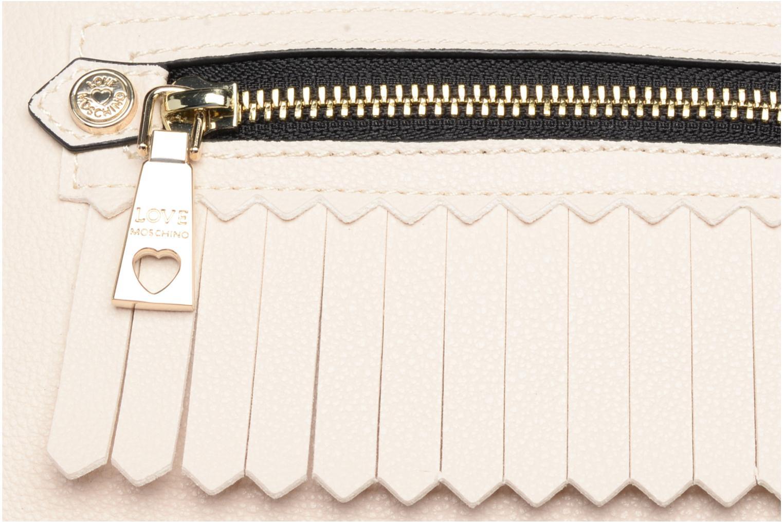 Borse Love Moschino Fringes bag Crossbody Bianco immagine sinistra