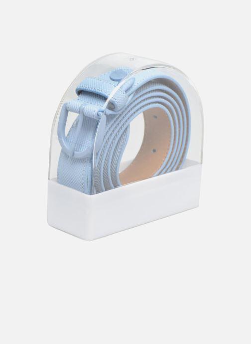 Cinturones Lacoste L1212 Ceinture 25mm Azul vista lateral derecha