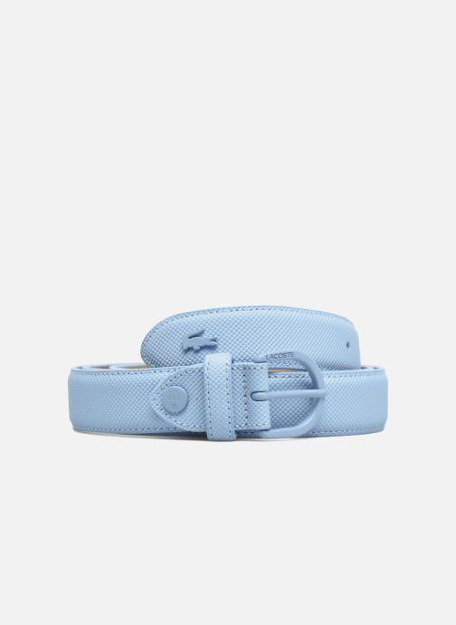 Cinturones Lacoste L1212 Ceinture 25mm Azul vista de detalle / par