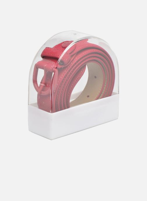 Belts Lacoste L1212 Ceinture 25mm Pink view from the right