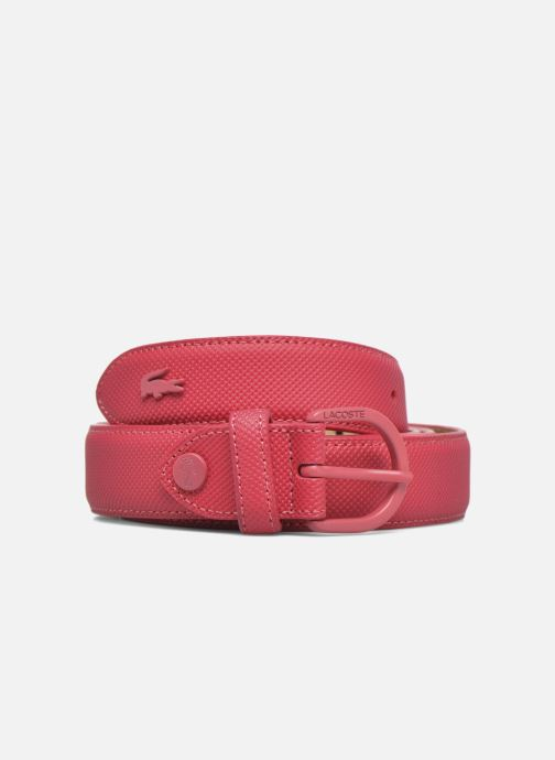Belts Lacoste L1212 Ceinture 25mm Pink detailed view/ Pair view