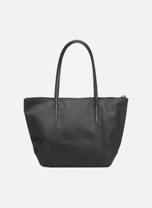 Bolsos de mano Lacoste S SHOPPING BAG Negro vista de frente