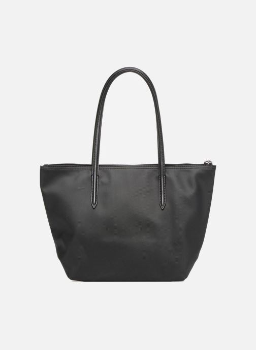 Bolsos de mano Lacoste S SHOPPING BAG Negro vista de frente