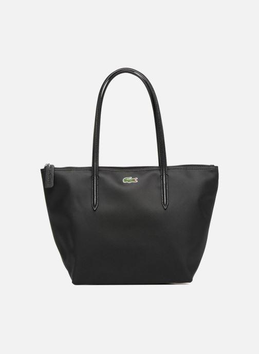 Bolsos de mano Lacoste S SHOPPING BAG Negro vista de detalle / par
