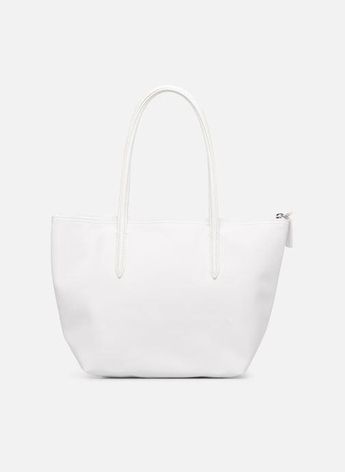 Bolsos de mano Lacoste S SHOPPING BAG Blanco vista de frente