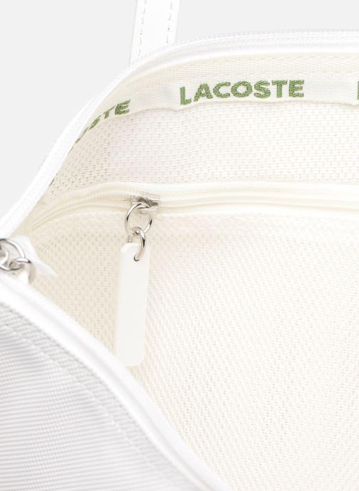 Sacs à main Lacoste S SHOPPING BAG Blanc vue derrière