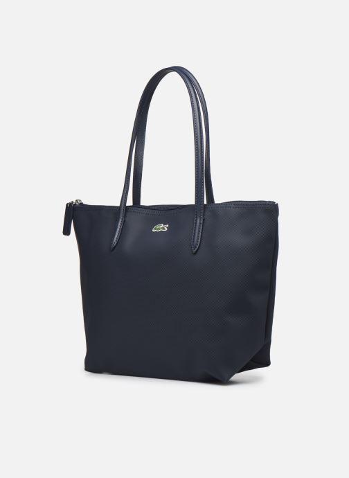 Handtassen Lacoste L.12.12 Concept S Shopping Bag Blauw model