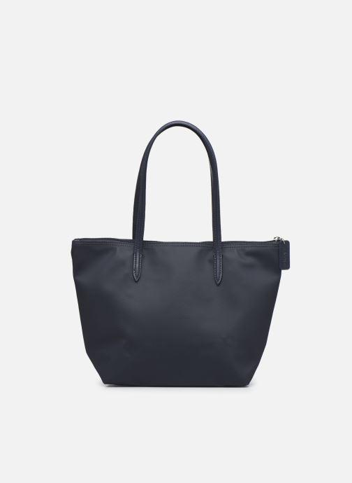 Handtassen Lacoste L.12.12 Concept S Shopping Bag Blauw voorkant