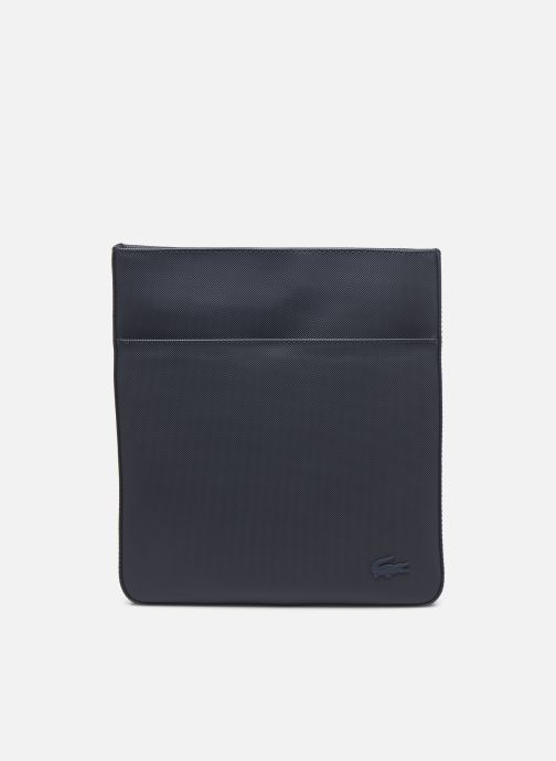 Herentassen Lacoste Men's Classic Flat Crossover bag Blauw detail