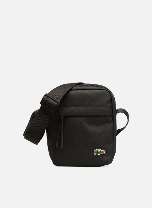 Herentassen Lacoste Neocroc Vertical Camera Bag Zwart detail