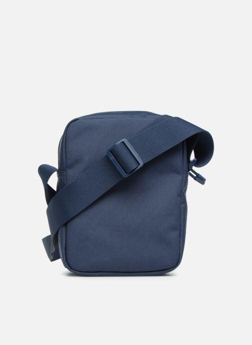 Herrentaschen Lacoste Neocroc Vertical Camera Bag blau ansicht von vorne