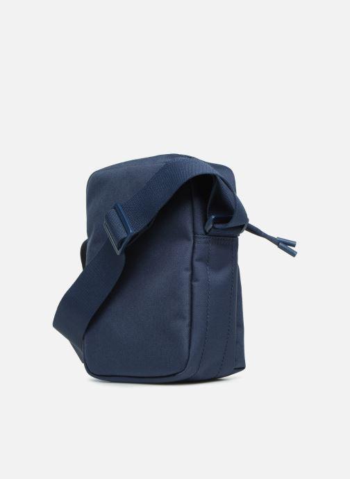 Herrentaschen Lacoste Neocroc Vertical Camera Bag blau ansicht von rechts