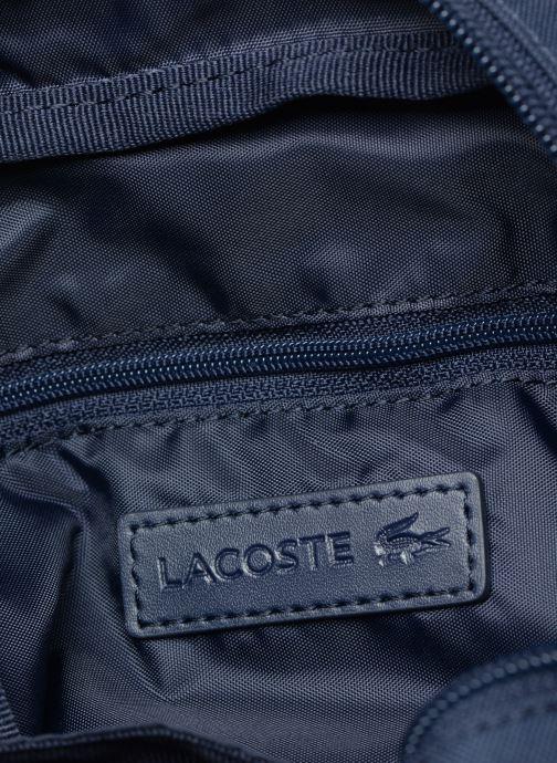 Herentassen Lacoste Neocroc Vertical Camera Bag Blauw achterkant
