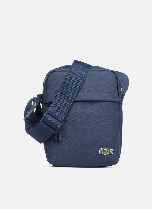 Herrentaschen Lacoste Neocroc Vertical Camera Bag blau detaillierte ansicht/modell
