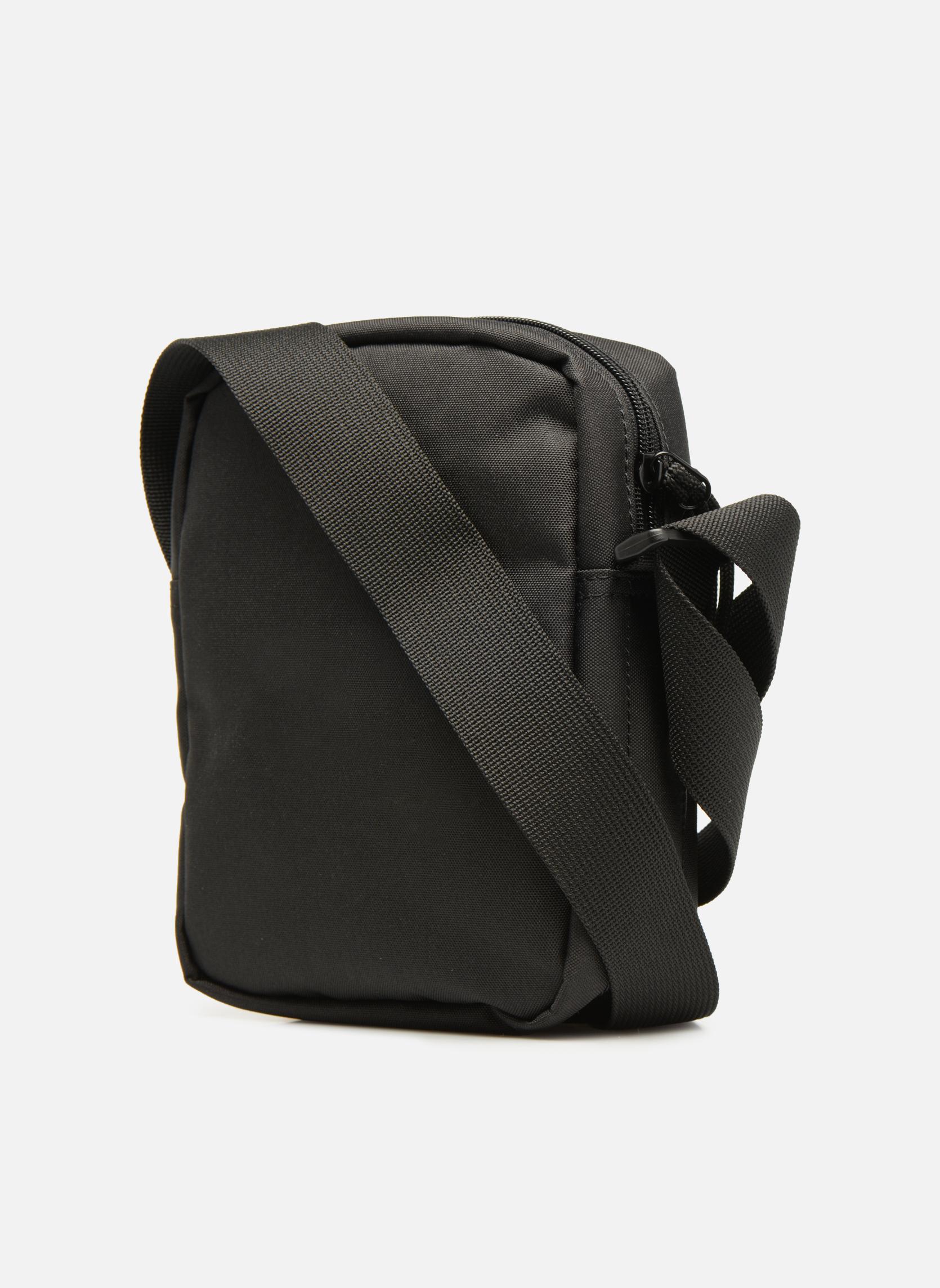 Herrentaschen Lacoste Neocroc Vertical Camera Bag schwarz ansicht von rechts