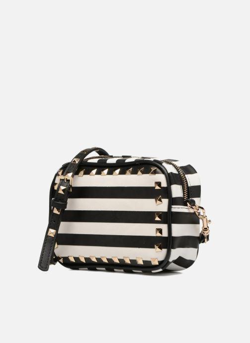 Handbags L'Aetelier Caesars SALLY Crossbody Black model view