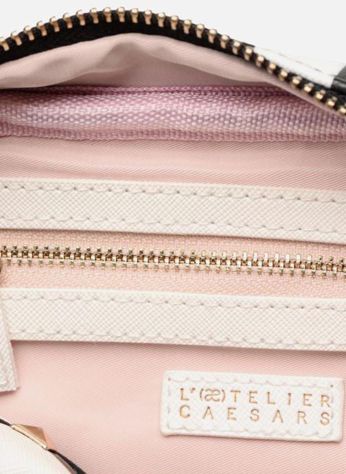 Handbags L'Aetelier Caesars SALLY Crossbody Black back view