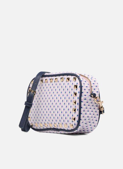 Handbags L'Aetelier Caesars SALLY Crossbody Blue model view