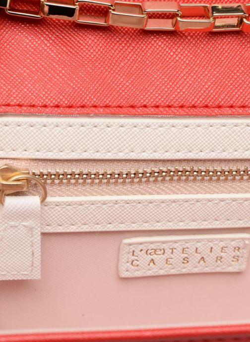Handtassen L'Aetelier Caesars ANDY Shoulder bag S Rood achterkant