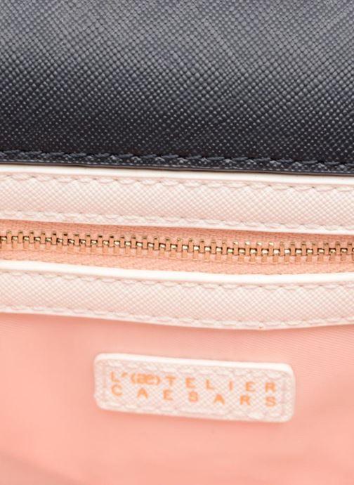 Handbags L'Aetelier Caesars ANDY Shoulder bag S Black back view
